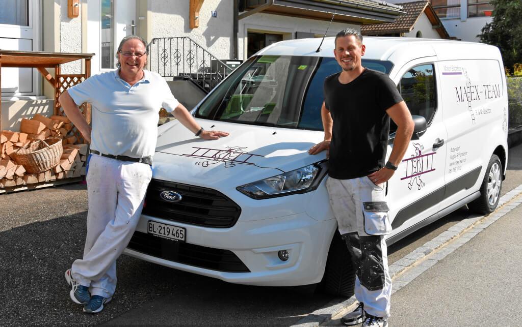 Team Maex mit Peter und Michel Buschor