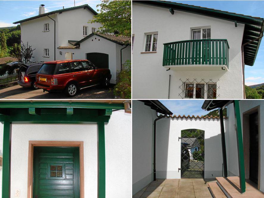 Älteres Einfamilienhaus in Flüh nicht weit von Basel. Sanierung des Hauses innen und aussen Durch das MAEX-Team, was es ermöglichte einen sofortigen Kauf zuerreichen.