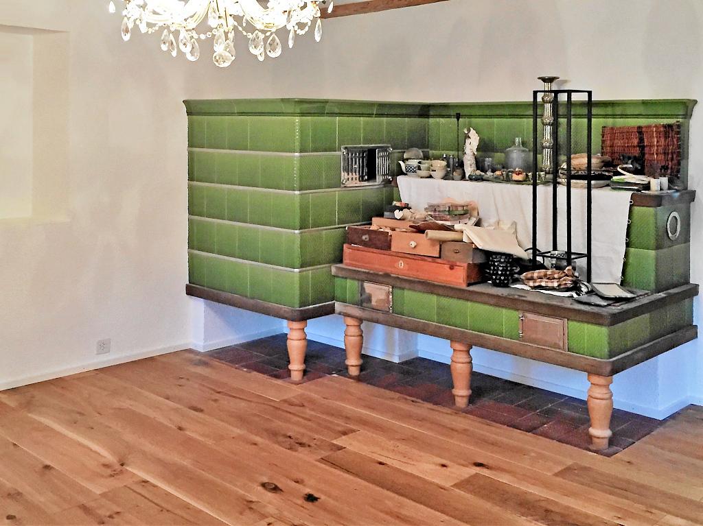 Holzboden aus Klickparkett
