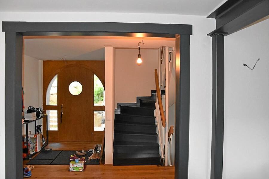 Eingangsbereich neu gestrichen