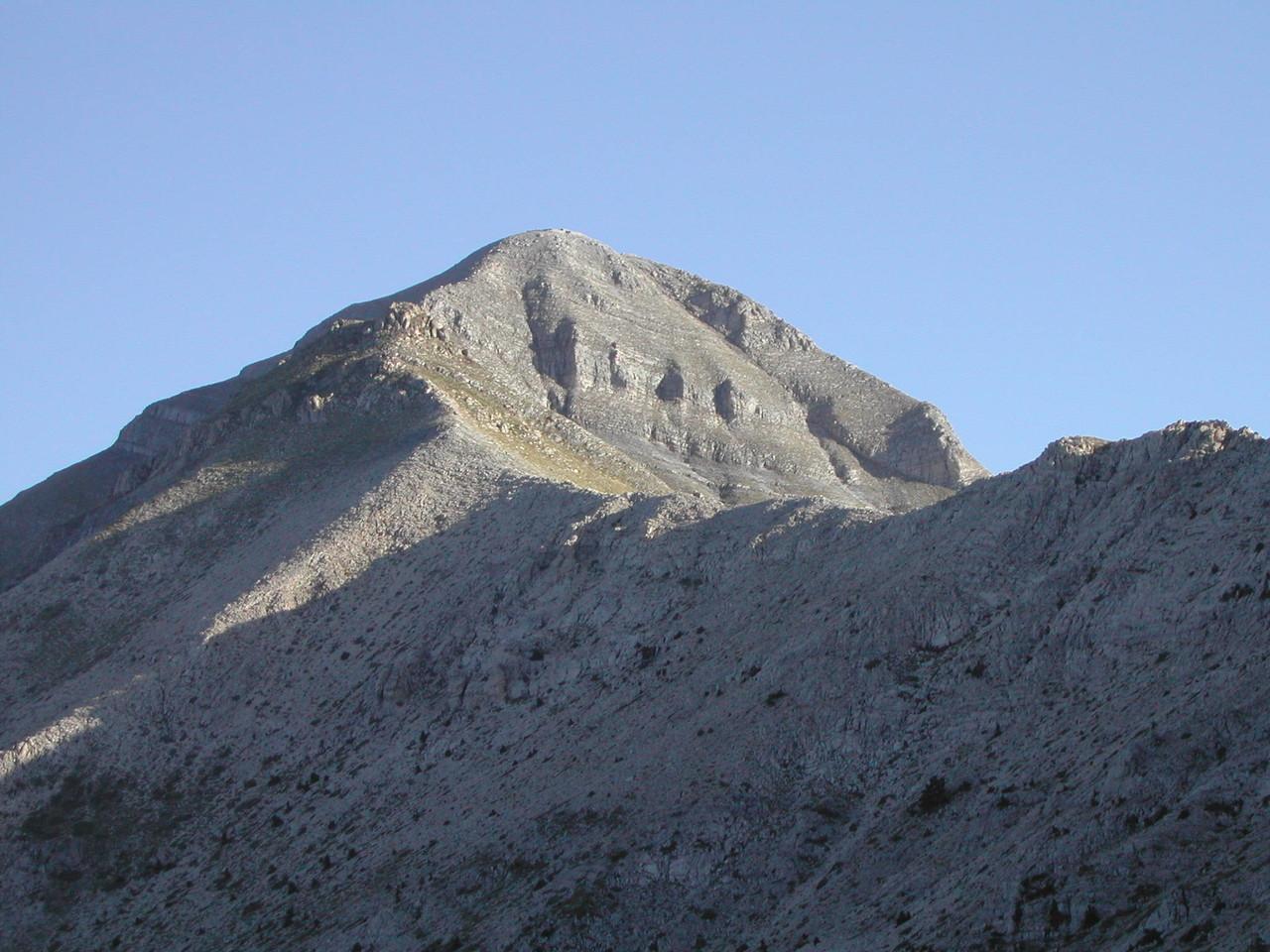Gipfelgrat zum Elias