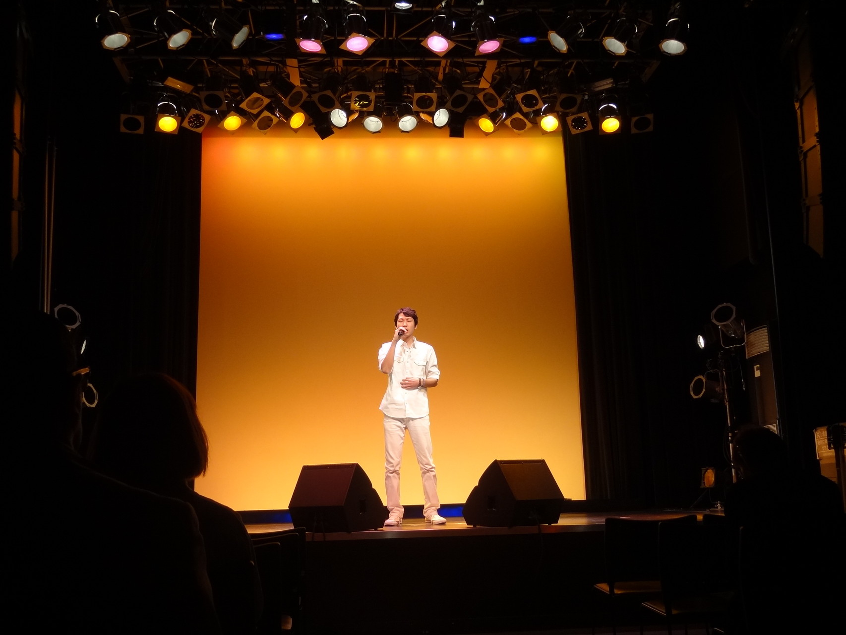 ライブ発表会の様子