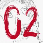 """Serie Minutes """"02"""" -  2014, Acryl auf Leinen, 40 x 50 cm, Preis auf Anfrage"""