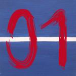 """Serie Minutes """"01"""" -  2014, Acryl auf Leinen, 40 x 50 cm, verkauft"""