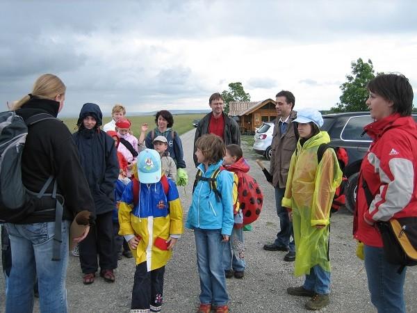 Hainichwanderung Kinderchor 2007