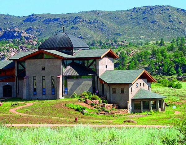 Abbey of St. Walburga, Virginia Dale, Colorado / USA