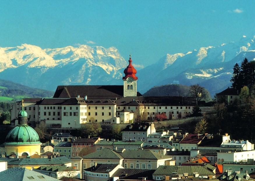Abtei Nonnberg in Salzburg