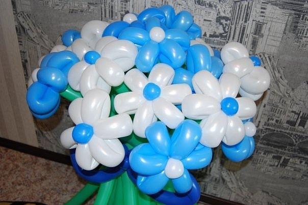 Букет из шаров - 350 руб.