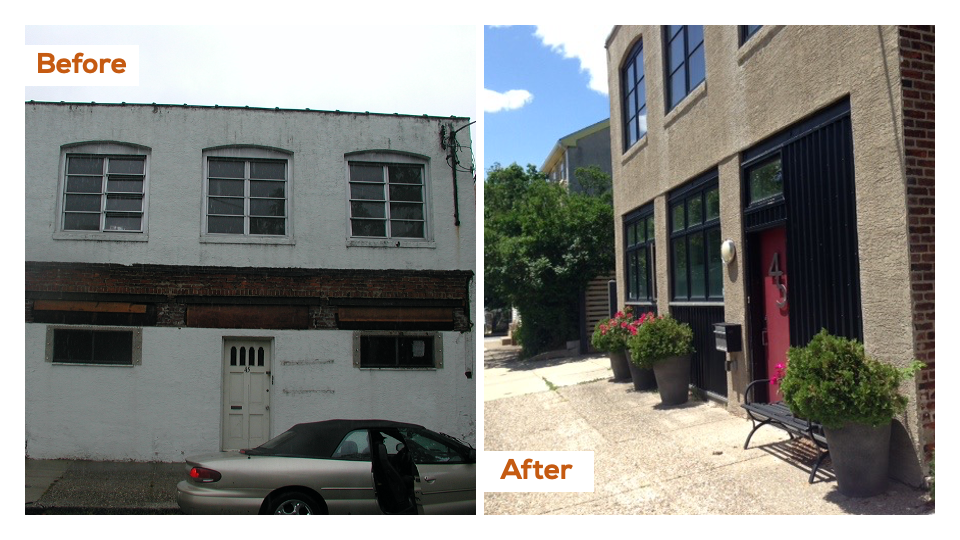 Our Home in Philadelphia, Before & After