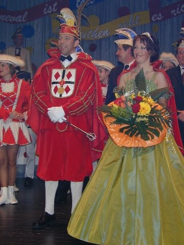 2003 Prinz Bernd Lehmann I. Prinzessin Susanne Lehmann I.