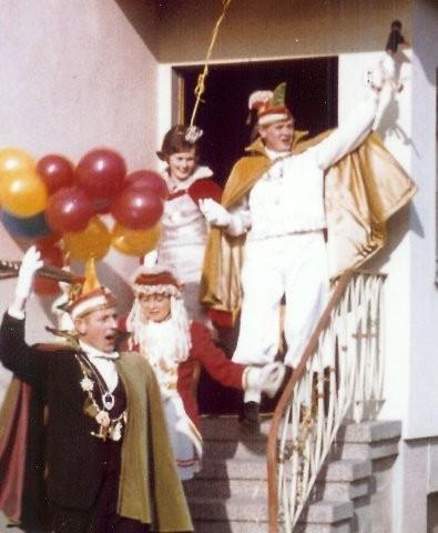 1967 Prinz Heinz Franke II. Prinzessin Hilde Sitzer I.