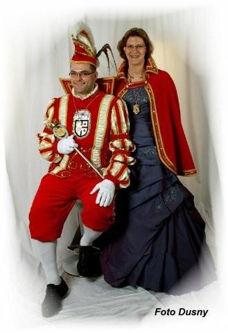 2010 Prinz Richard Sellerberg I. Prinzessin Claudia Sellerberg II.