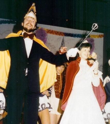 1984 Prinz Burkhard Reine II. Prinzessin Ursula Reine IV.