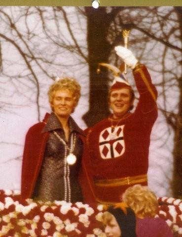 1975 Prinz Volker Penopp I. Prinzessin Anni Marx I.