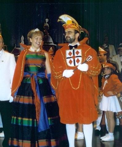 1999 Prinz Hubert Mertens I. Prinzessin Christa Mertens II.
