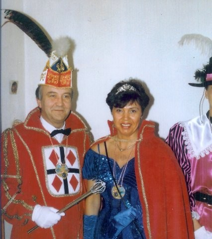 1992 Prinz Hermann-Josef Schrewe I. Prinzessin Ursula Schrewe V.