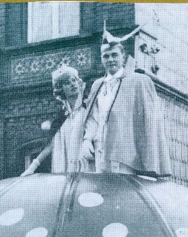 1963 Prinz Karl-Heinz Theine I. Prinzessin Ursuka Theine I.