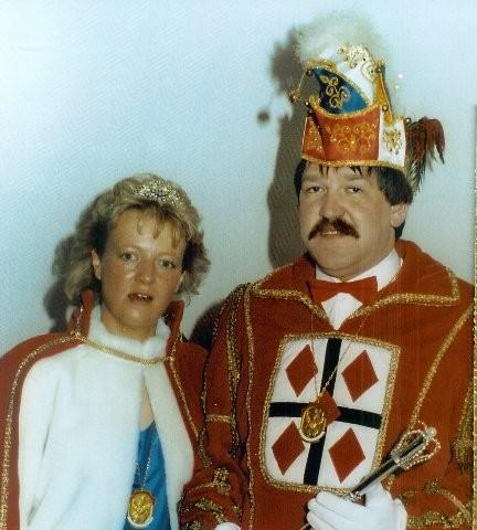 1990 Prinz Peter Donner I. Prinzessin Gaby Donner I.