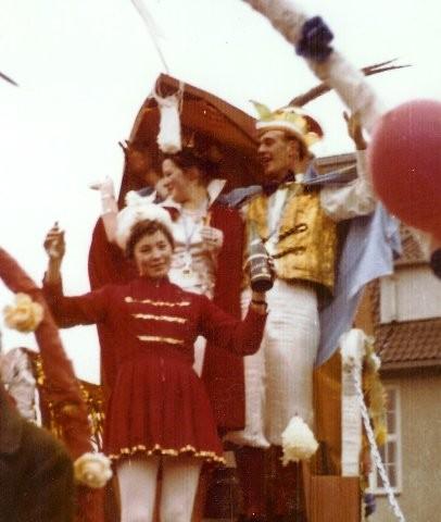 1961 Prinz Theo Sellerberg I. Prinzessin Elsbeth Luka I.