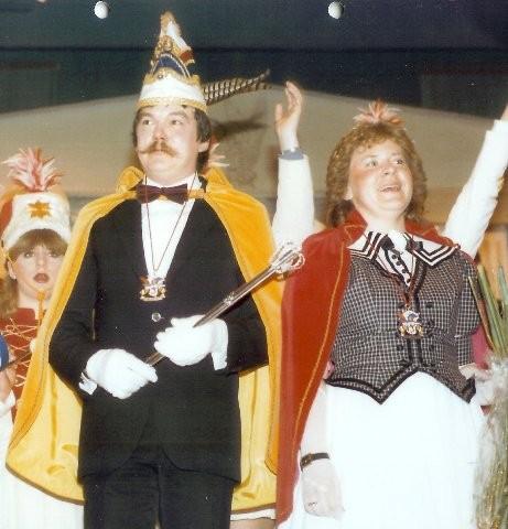 1985 Prinz Josef Bause III. Prinzessin Anne Bause I.