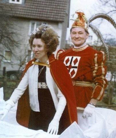 1971 Prinz Fritz Henneböhl II. Prinzessin Inge Schweis I.
