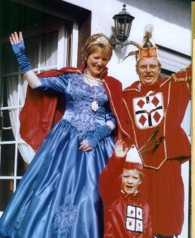 1995 Prinz Herbert Schobert II. Prinzessin Edith Schobert I.