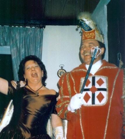 1996 Prinz Hans-Georg Henkenherm I. Prinzessin Inge Henkenherm II.