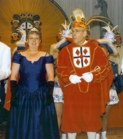 1997 Prinz Dieter Schrewe I. Prinzessin Antonie Schrewe I.