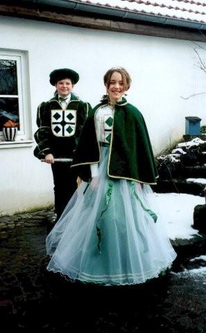 2000    Gregor Steinweg I.        Annika Mertens I.