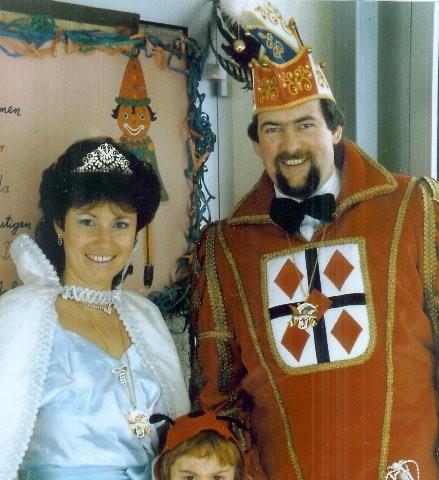 1987 Prinz Franz-Josef Biene I. Prinzessin Rosel Biene I.