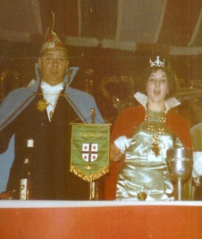 1965 Prinz Willi Arens I. Prinzessin Ute Gebhard I.
