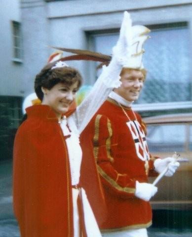 1981 Prinz Josef Krewett II. Prinzessin Christa Krewett I.
