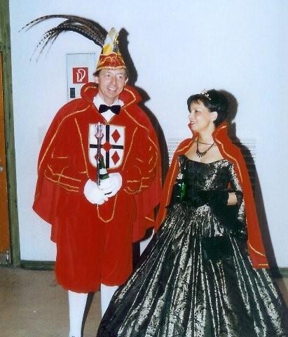 2001 Prinz Josef Pieper IV. Prinzessin Birgit Pieper I.