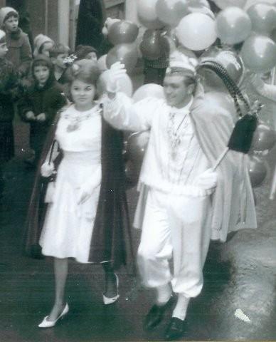 1964 Prinz Hermann Arens I. Prinzessin Monika Schmidt I.