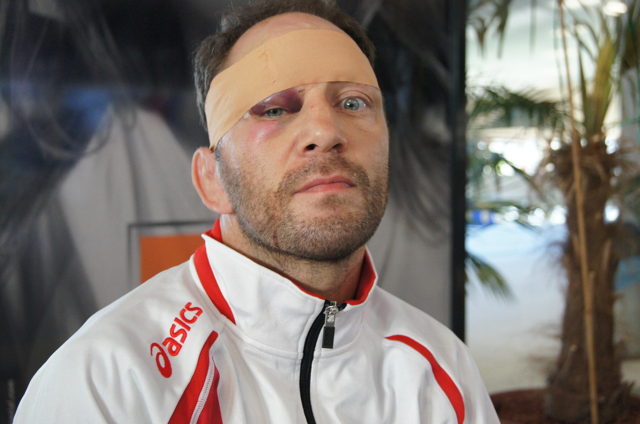 Veteranen WM in Budapest, Pascals Verletzung