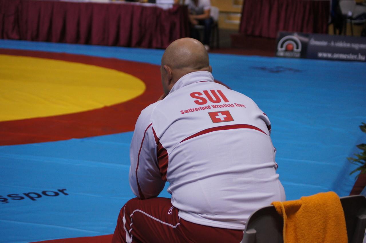 Veteranen WM in Budapest, Coach Armin Gugler