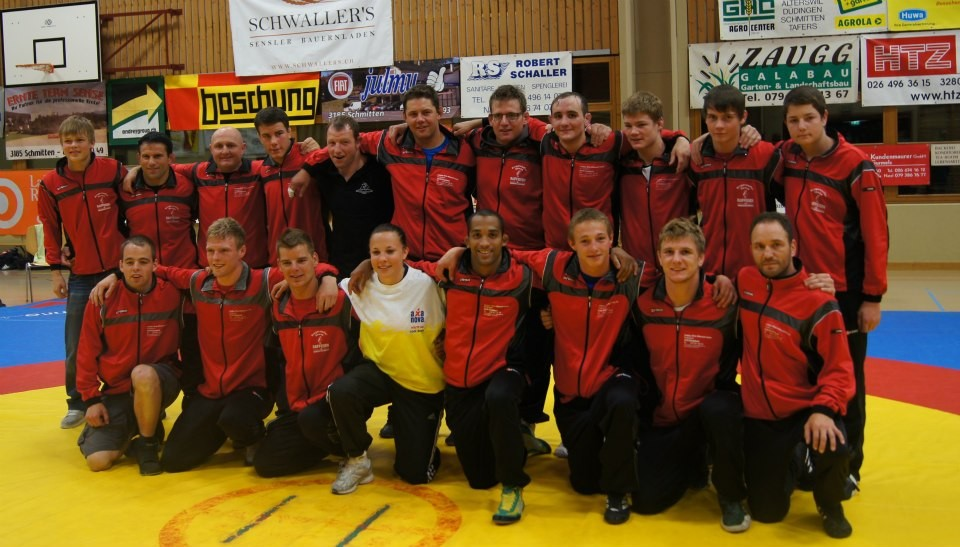 Mannschaftsmeisterschaft 2012, Mannschaftsfoto