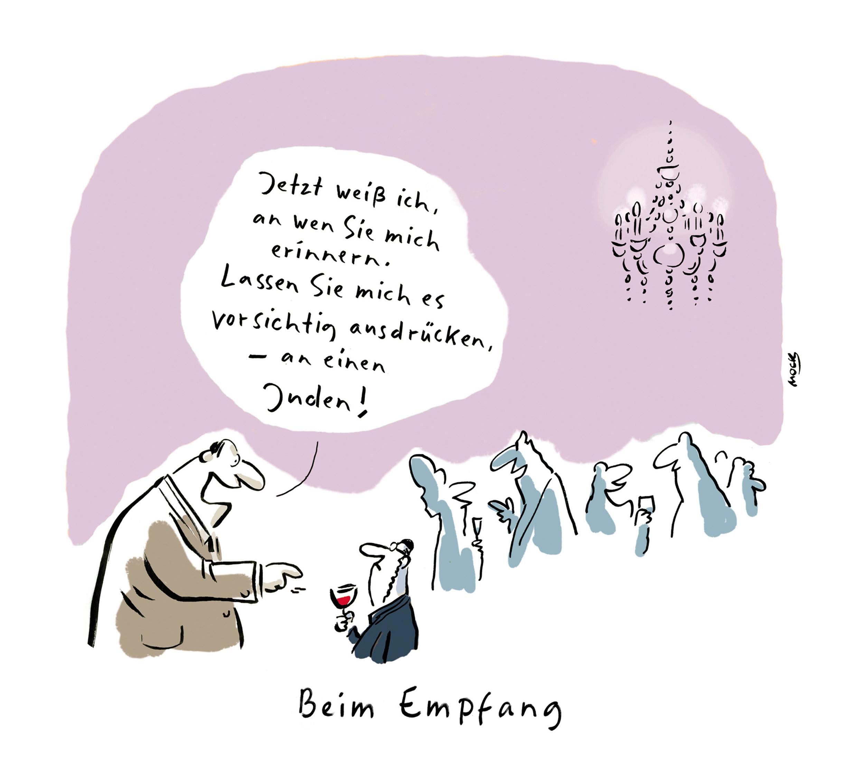Cartoon von Mock zum Thema Pressefreiheit