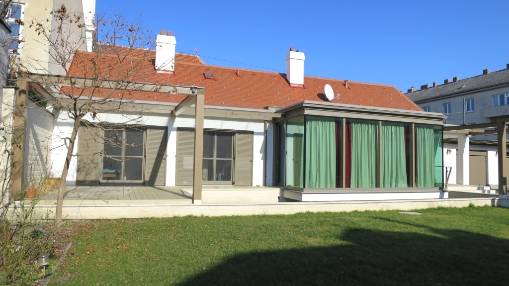 Einfamilienhaus in Wien 2014