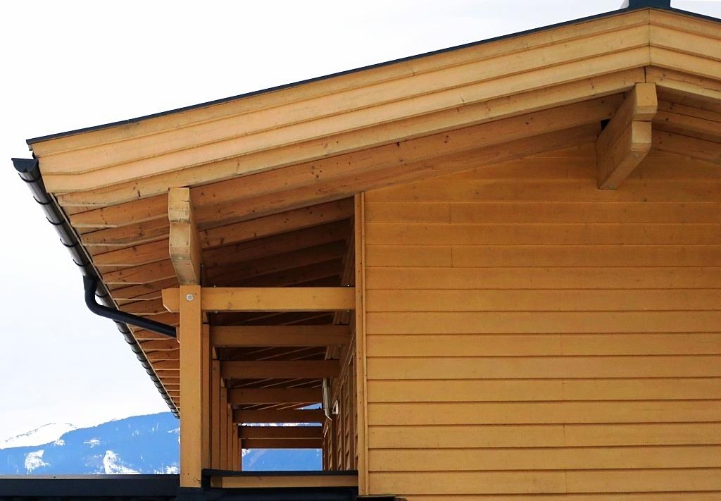 Einfamilienhaus in Bruck Zimmermannskonstruktion