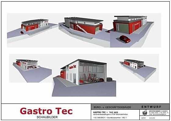 Projekt Geschäftshaus 2009