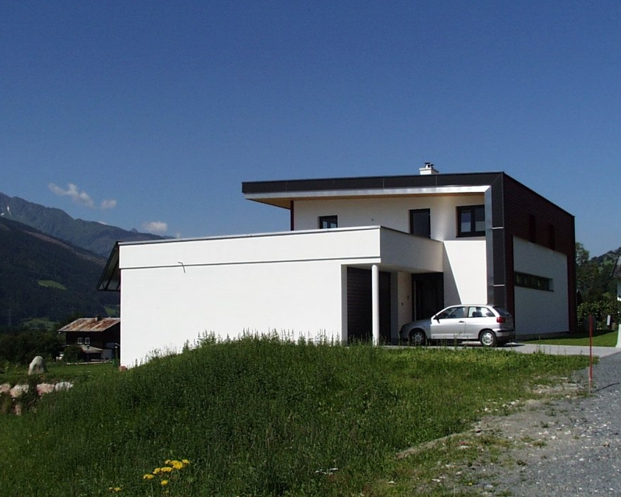 Niedrigeinergiehaus in Niedernsill für eine Familie
