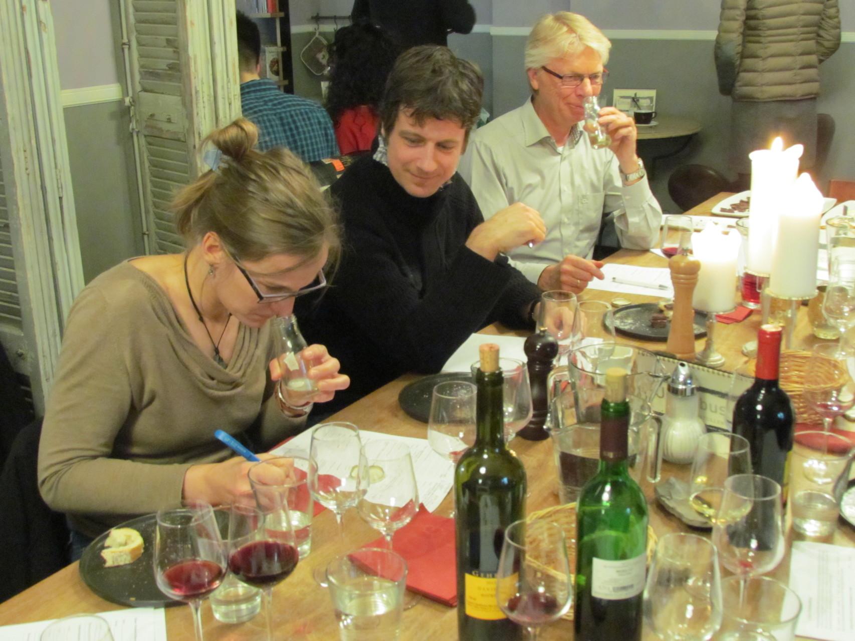 Wein und Schokolade Seminar Düsseldorf 19 03 2016