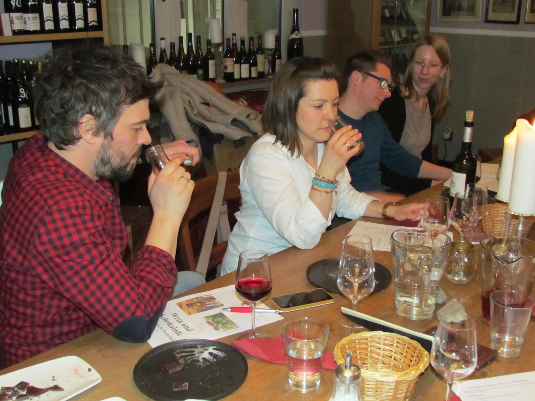 Wein und Schokolade Seminare 19 03 2016