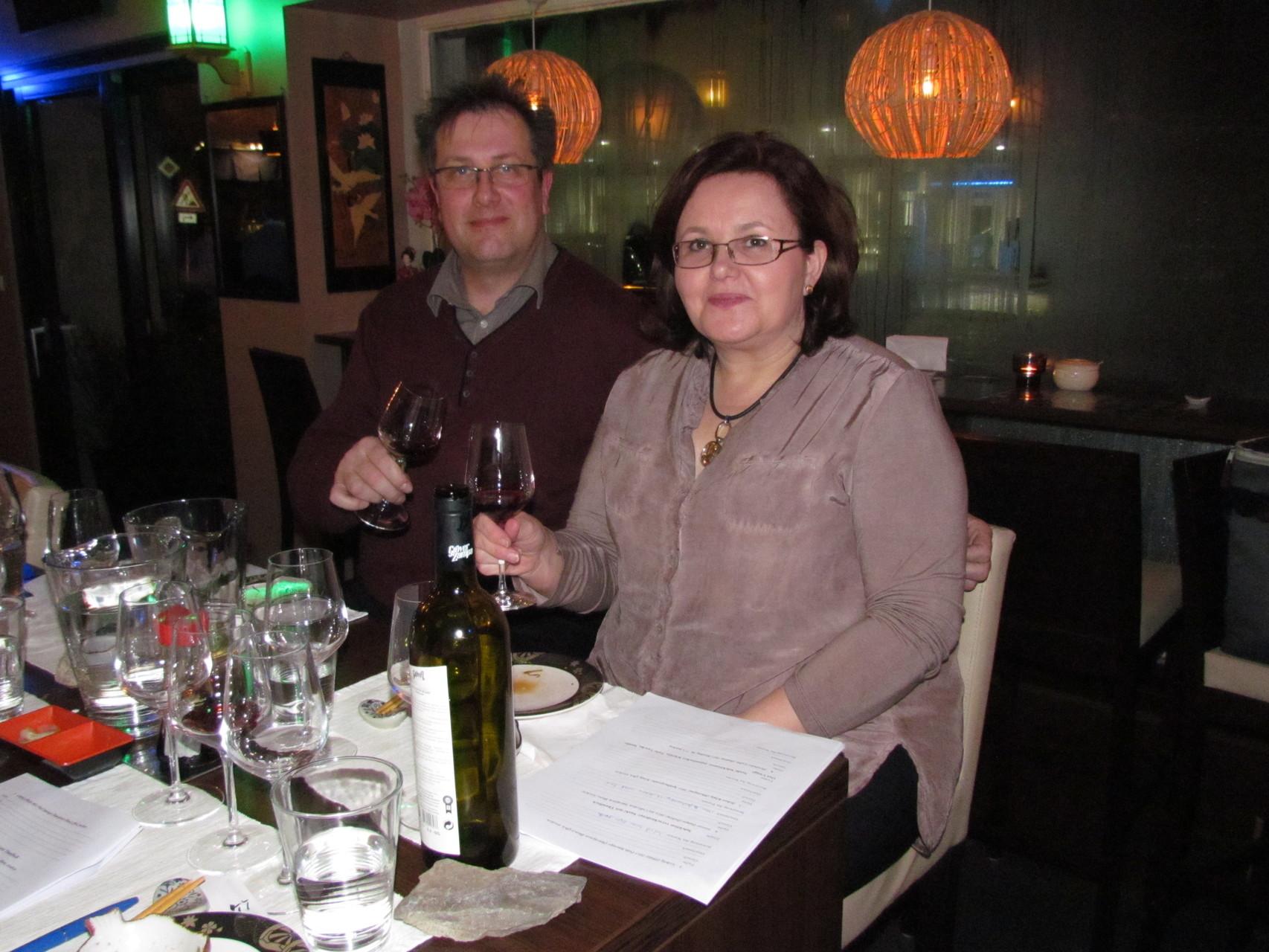 Wein und Sushi Seminar Frankfurt 30 01 2016