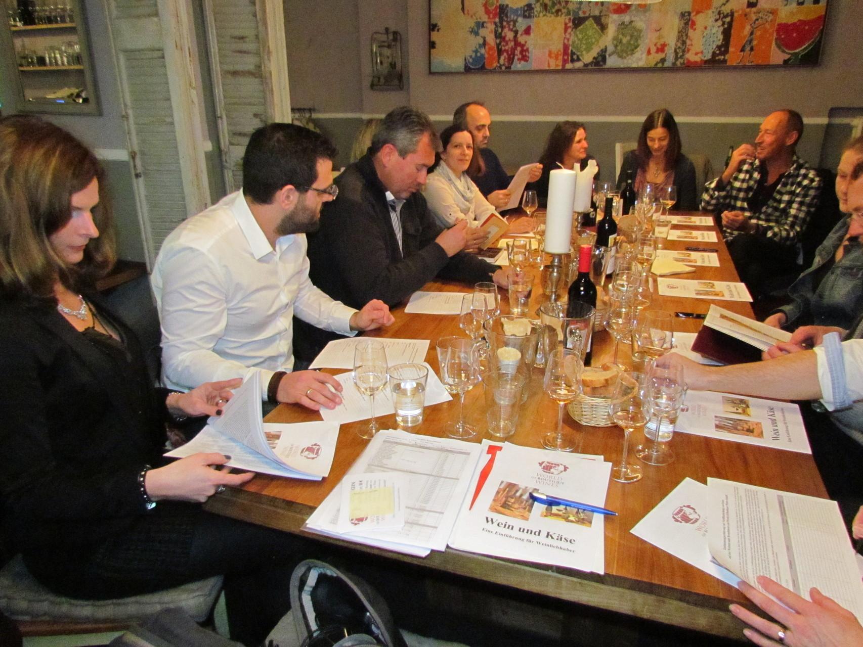 Wein und Käse Seminar Düsseldorf 23 01 2016