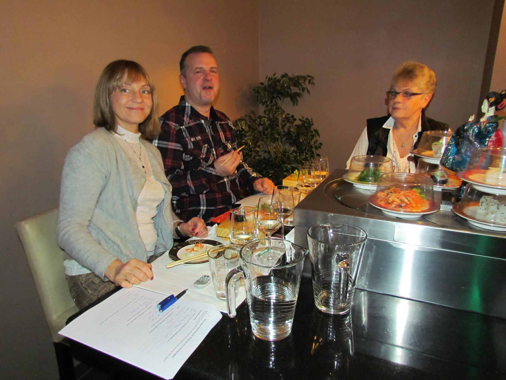 Wein und Sushi Seminar Frankfurt 12 03 2016