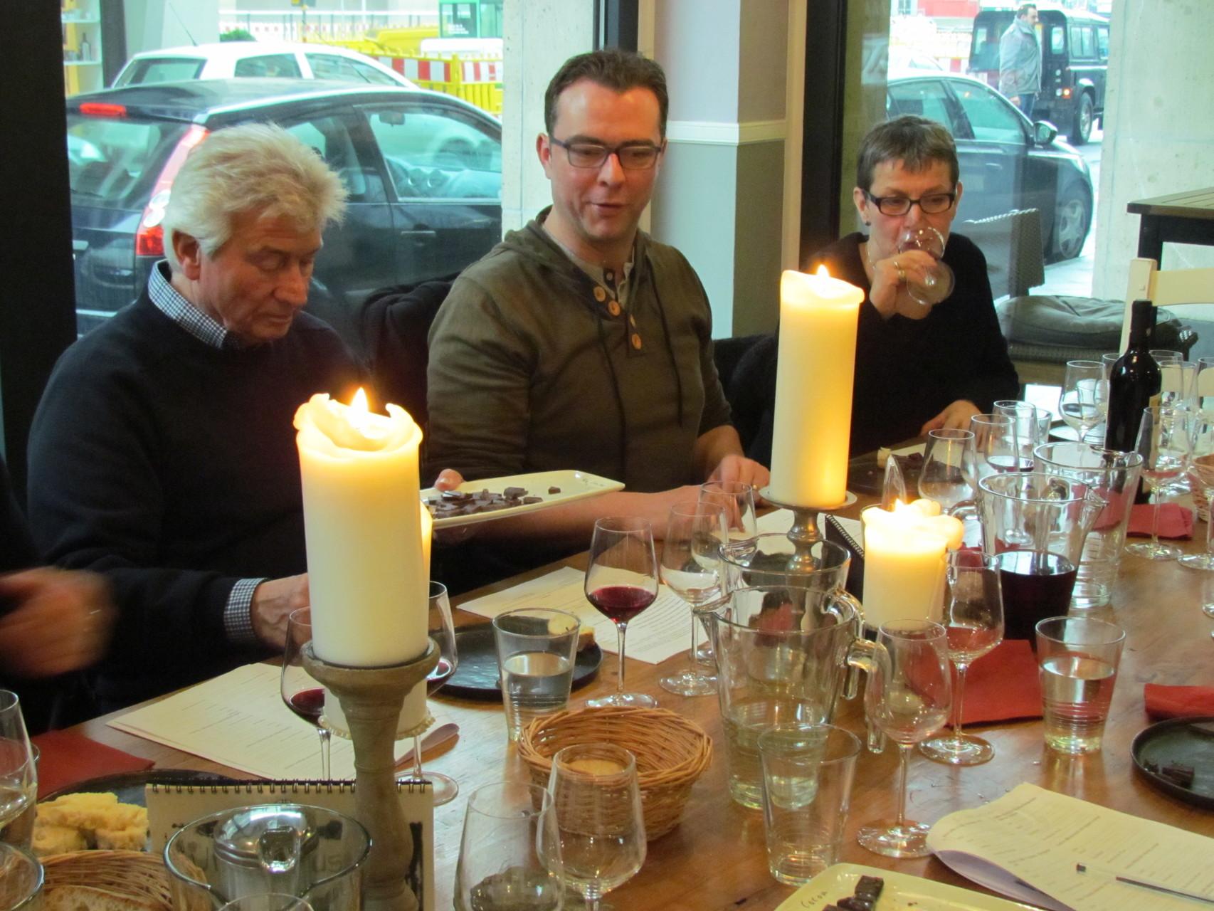 Wein und Schokolade Seminare 14 02 2016