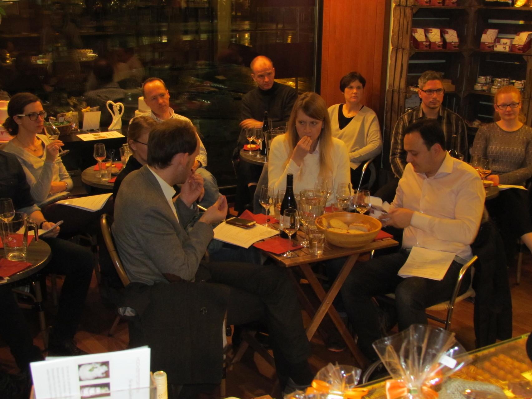 Wein und Schokolade Seminar Frankfurt 04 03 2016