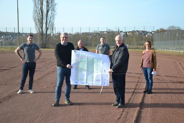 Neue Sportanlage: Stadt unterstützt TuS Staffel